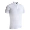 Glenmuir Plain Mercerised Polo Shirt GM42 White