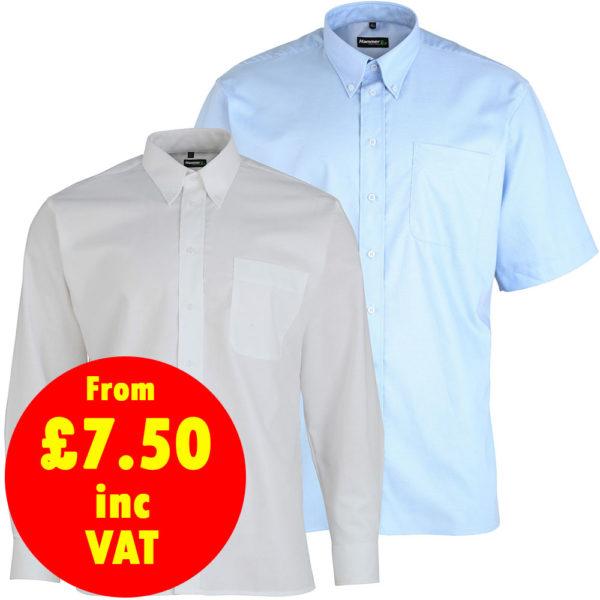 Hammertex Oxford Button Down Collar