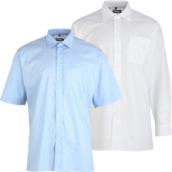 Hammertex Oxford Shirt With Cutaway Collar
