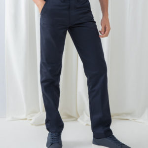 Henbury 65-35 Flat Fronted Chino Trousers H640