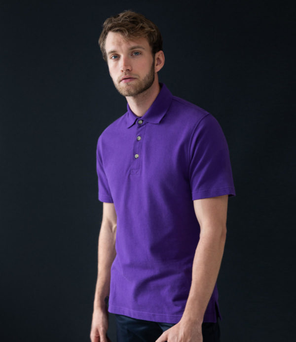 Henbury Classic Heavy Cotton Pique Polo Shirt H100