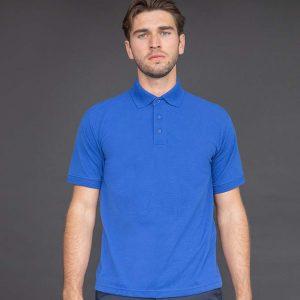Henbury Heavy Poly Cotton Pique Polo Shirt H400