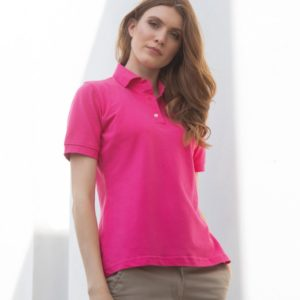 Henbury Ladies Classic Cotton Pique Polo Shirt H121