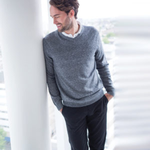 Henbury-V-Neck-Marl-Sweater-H780.jpg