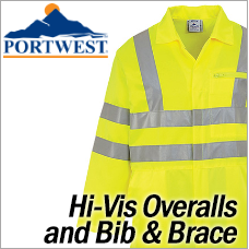 Portwest Hi-Vis Overalls