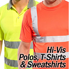 Hi Vis Polos T-Shirts and Sweatshirts