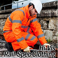 Hi Vis Rail Spec Clothing