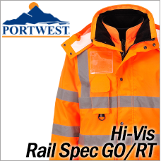 Portwest Hi-Vis Rail Spec