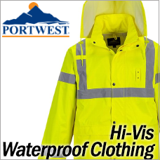Portwest Hi-Vis Waterproof Clothing