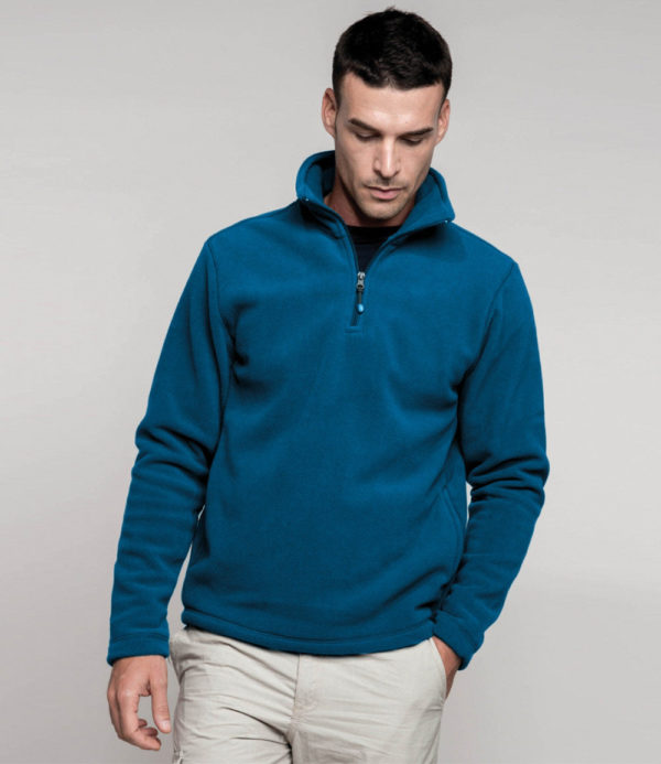 Kariban Enzo Zip Neck Micro Fleece KB912
