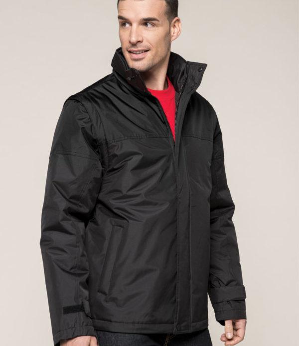 Kariban Factory Zip Off Sleeve Jacket KB693