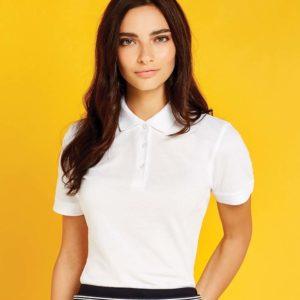 Kustom Kit Ladies Klassic Slim Fit Pique Polo Shirt K213