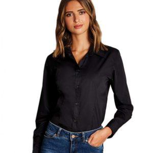 Kustom Kit Ladies Long Sleeve Workforce Shirt K729