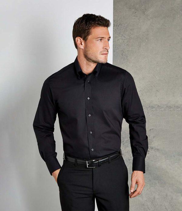Kustom Kit Long Sleeve City Business Shirt K386