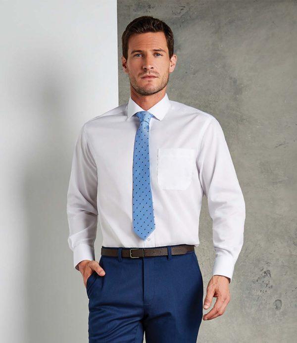 Kustom Kit Long Sleeve Premium Non-Iron Corporate Shirt K116