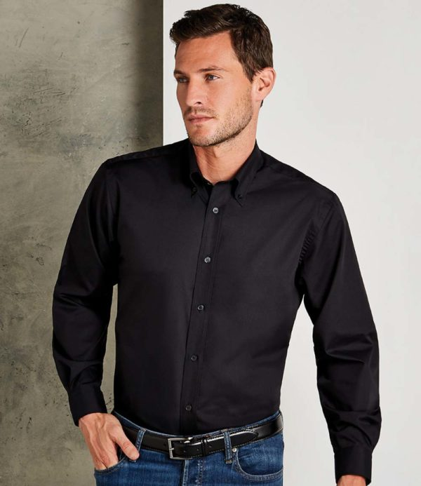 Kustom Kit Long Sleeve Workforce Shirt K140