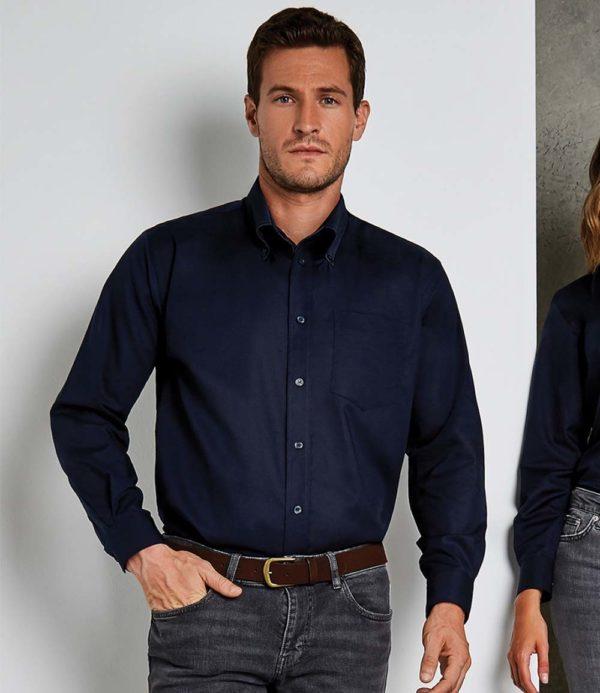 Kustom Kit Long Sleeve Workwear Oxford Shirt K351