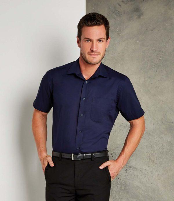 Kustom Kit Short Sleeve Business Shirt K102