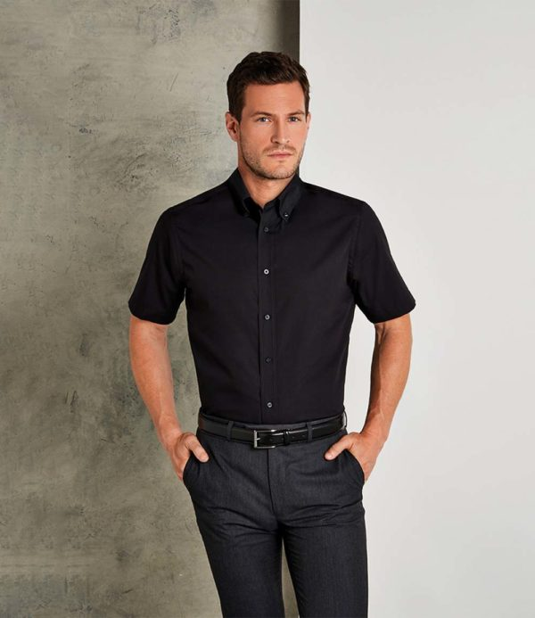 Kustom Kit Short Sleeve City Business Shirt K385