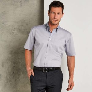 Kustom Kit Short Sleeve Corporate Oxford Shirt K109