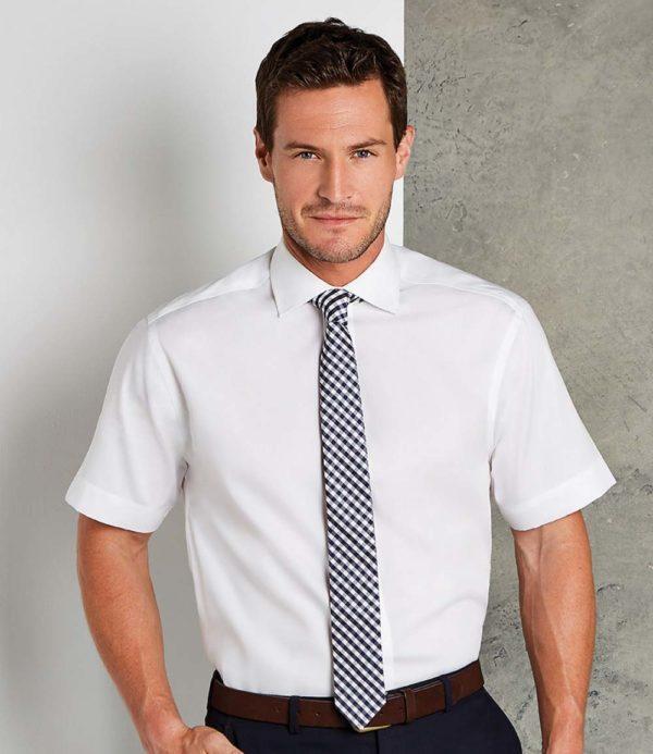 Kustom Kit Short Sleeve Executive Premium Oxford Shirt K117