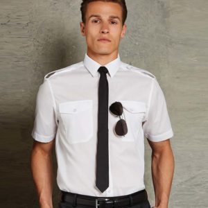 Kustom Kit Short Sleeve Pilot Shirt K133