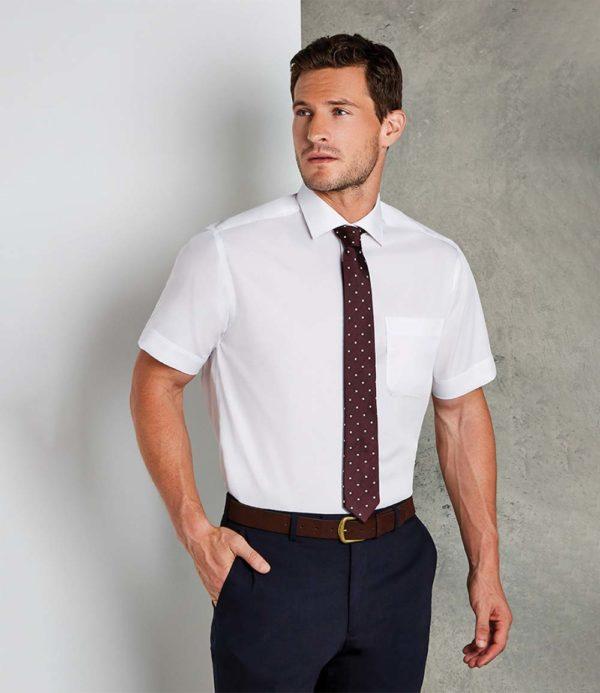 Kustom Kit Short Sleeve Premium Non-Iron Corporate Shirt K115