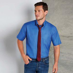Kustom Kit Short Sleeve Workwear Oxford Shirt K350