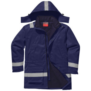 Portwest Bizflame Plus Flame Resistant Anti-Static Winter Jacket FR59
