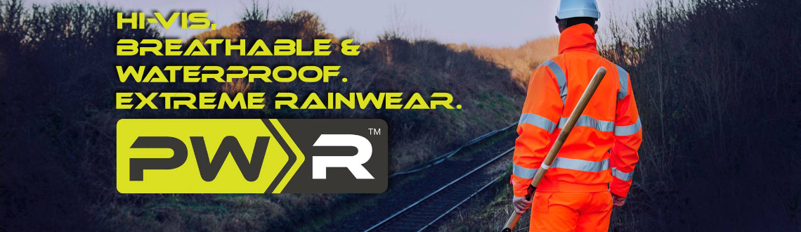 PWR Extreme Waterproof Breathable Rainwear from Portwest