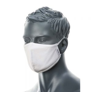 Portwest 2-Ply Anti-Microbial Fabric Face Mask Pack of 25 CV22