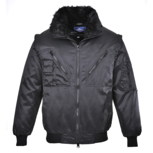 Portwest 4-in-1 Pilot Jacket PJ10 Black
