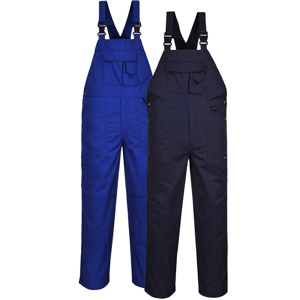 Portwest 9 Pocket Bib & Brace Overall C876
