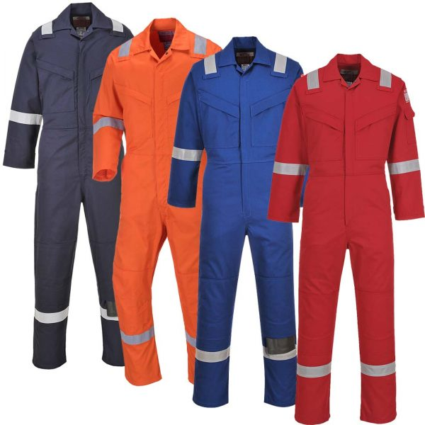 Portwest Aberdeen Flame Resistant Coverall FF50