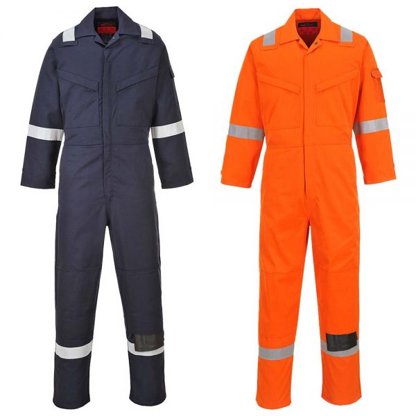 Portwest Araflame Flame Resistant Anti-Static Gold Coverall AF53