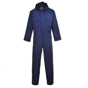 Portwest BizWeld Flame Resistant Hooded Coverall BIZ6