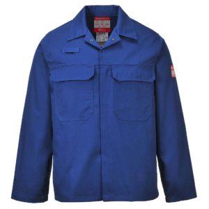 Portwest BizWeld Flame Resistant Jacket BIZ2 Royal Blue