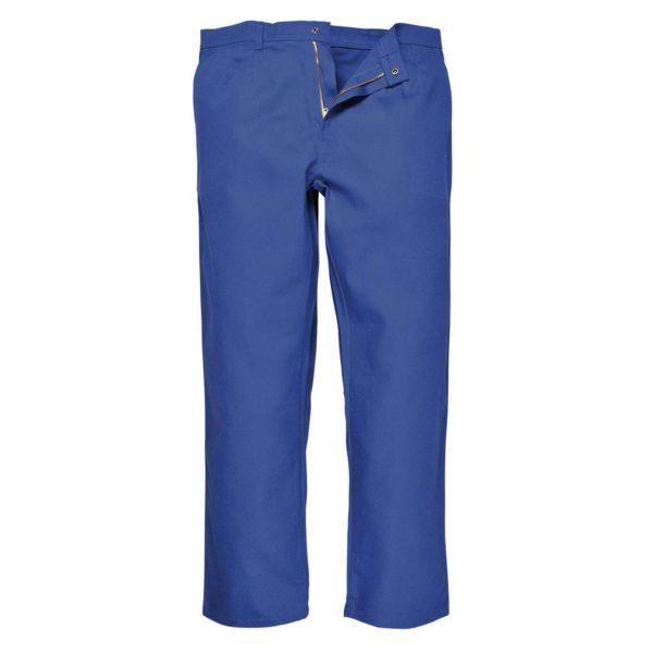 Portwest BizWeld Flame Resistant Trousers BZ30 Royal Blue