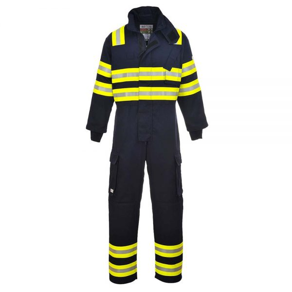 Portwest Bizflame FR Anti-Static Wildland Fire Coverall FR98