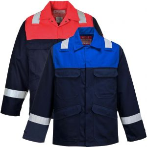 Portwest Bizflame Plus Flame Resistant Anti-Static Jacket FR55