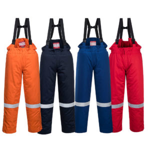 Portwest Bizflame Plus Flame Resistant Anti-Static Salopettes FR58
