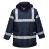 Portwest Bizflame Rain Anti-Static FR Jacket S785 Navy Blue