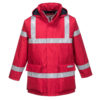 Portwest Bizflame Rain Anti-Static FR Jacket S785 Red