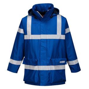 Portwest Bizflame Rain Anti-Static FR Jacket S785 Royal Blue