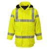 Portwest Bizflame Rain Hi-Vis FR Multi Lite Jacket S774 Yellow