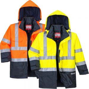 Portwest Bizflame Rain Hi-Vis FR Multi Protection Jacket S779