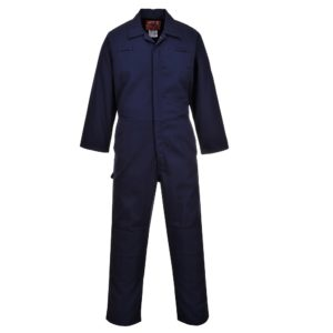Portwest Bizweld Anti-Static Flame Resistant Moleskin Coverall BZ40