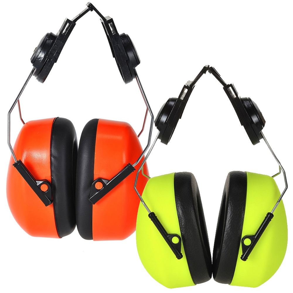 Portwest Endurance Hi-Vis Clip-On Ear Protector PS47