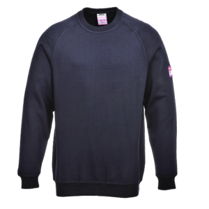 Portwest Flame Resistant Anti-Static Long Sleeve Sweatshirt FR12