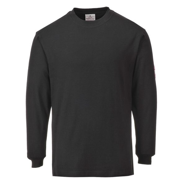 Flame Resistant Anti-Static Long Sleeve T-Shirt FR11 Portwest